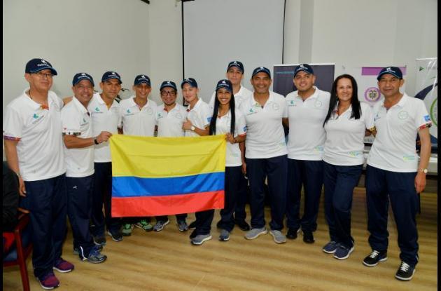 Selección Colombia de deportistas trasplantados