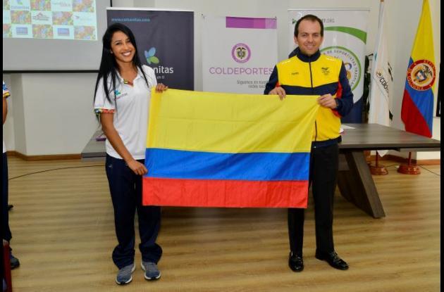 Tatiana Narváez, deportista transplantada cartagenera