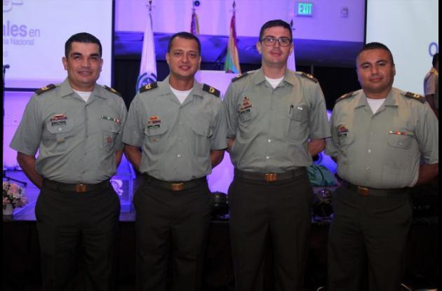 Wilson González, Wilson Sanjuan, Jaime Fernández y Jorge Rodríguez.