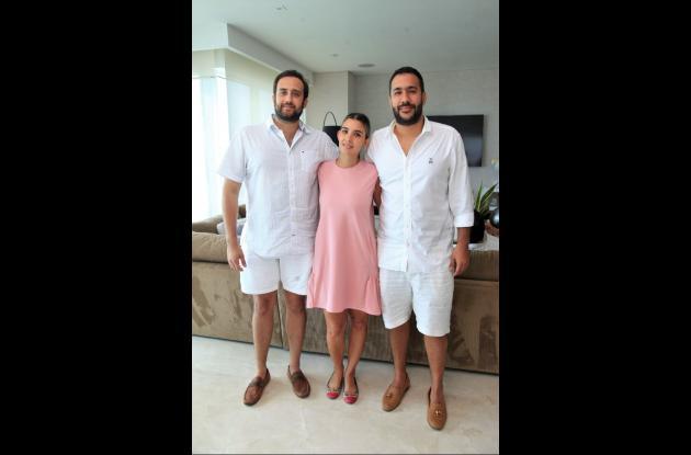 Carlos Mario Castillo, Camila Echeverry y Jorge Luis Flórez.