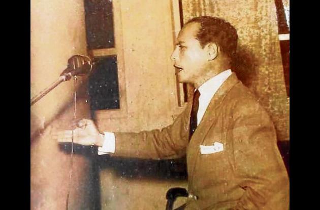 El periodista José Santander Suárez, director de Ecos de Córdoba, descrestó a los científicos del mundo, cuando descibrió en Tuchín, al indígena zenú Javier Pereira de 167 años.