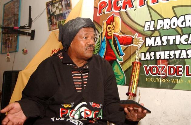 Mañe Vargas, locutor cartagenero.