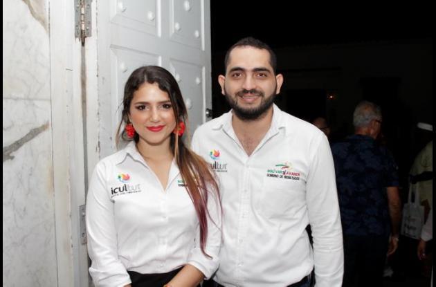 Paola López y Hassan Castillo.