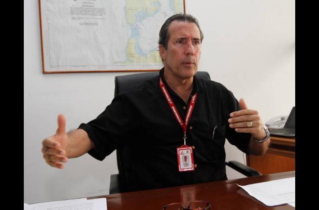 Gabriel Arango Bacci, director de Distriseguridad.
