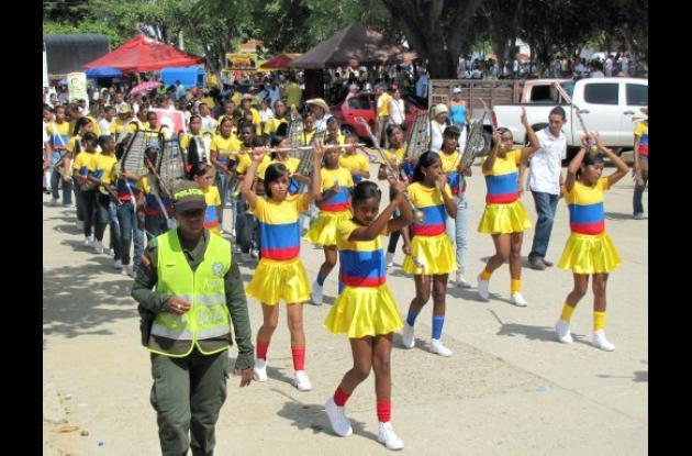 Desfile en Arjona