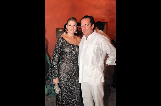 Fiesta de la Revista Caras y el Santa Clara