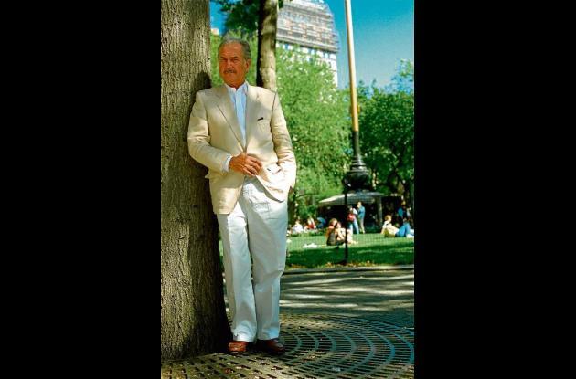 El escritor Carlos Fuentes