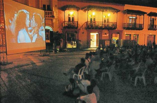 Cine bajo las estrellas, en Cartagena.