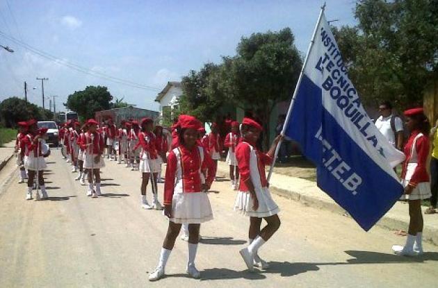 El Distrito celebró en Punta Canoa la Fiesta de Independencia.