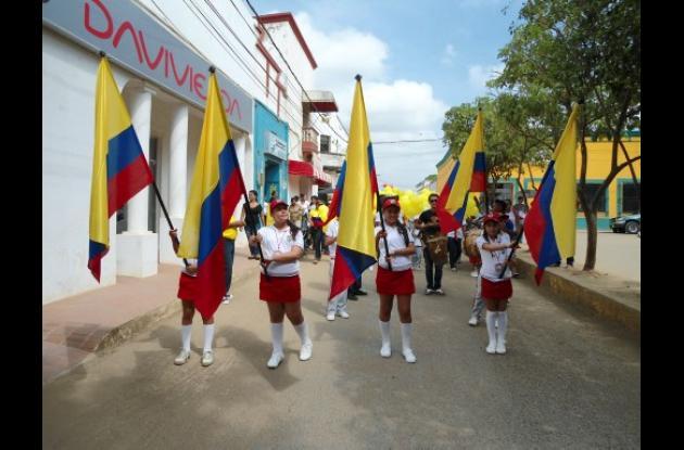 Celebración en El Carmen de Bolívar.