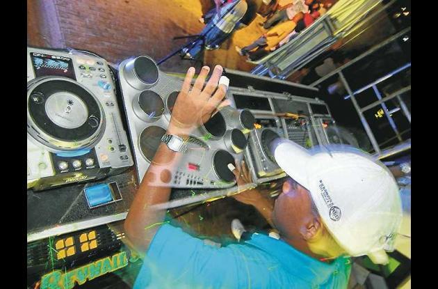 El DJ tamborero de estos tiempos