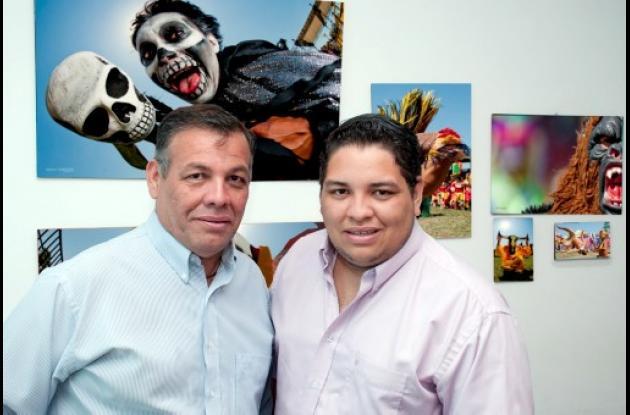 Manuel y José Manuel Pedraza.