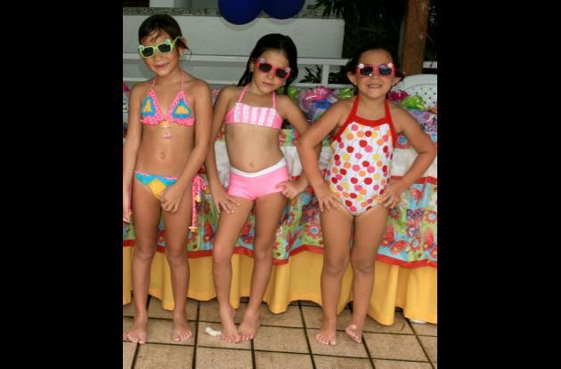 Gabriela Rojas, Valentina Toro y Juliana Foschini.