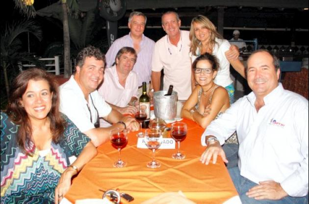 Comida en el Club Cartagena