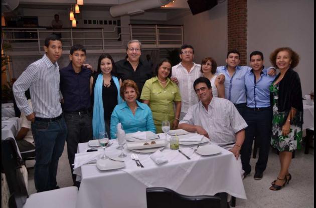 Inauguración del restaurante 241