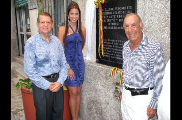 Placa conmemorativa de los 478 años de Fundación de Cartagena