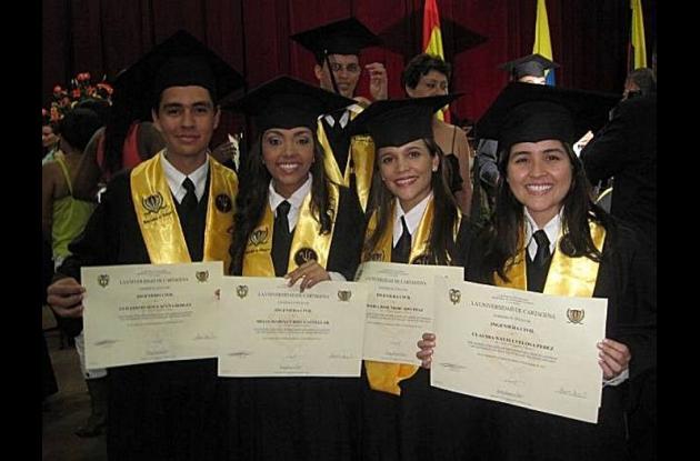 Grado de la Universidad de Cartagena