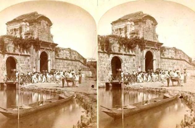 La Boca del Puente, principios del Siglo XX.