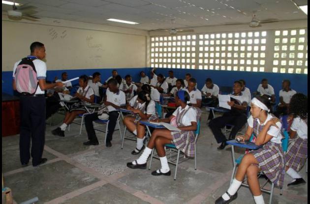 Salón del Colegio Antonia Santos
