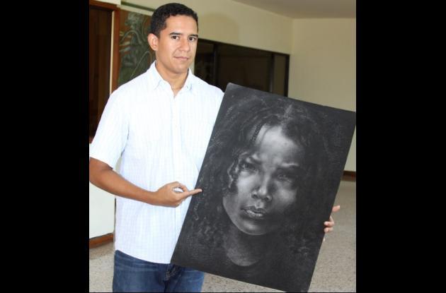 Alexander Osorio y sus retratos de afrodescendientes.