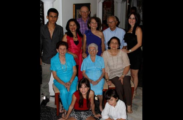 Cien años de Angela Flórez de Bettín