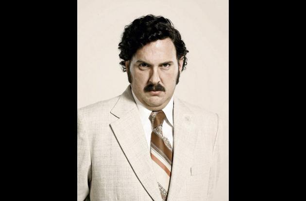 """Andrés Parra, protagonista de """"Escobar, el patrón del mal""""."""