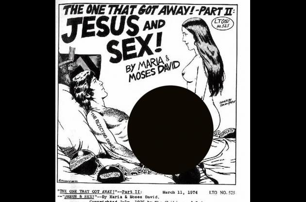 Otro folleto escrito por María y David Berg, con explícita incitación al sexo.