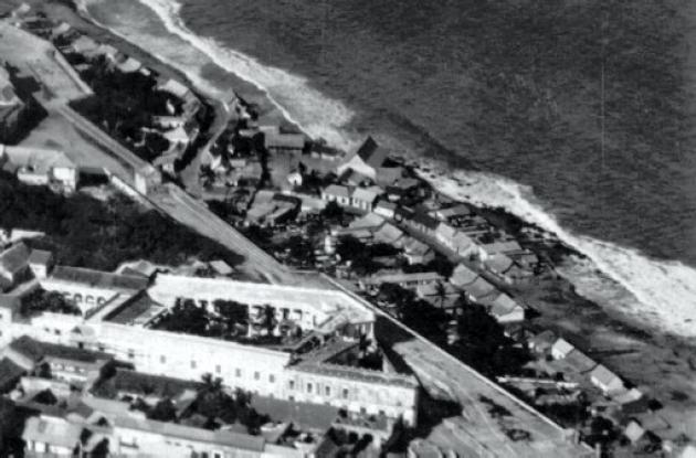 1928: Panorama aéreo del El Boquetillo.