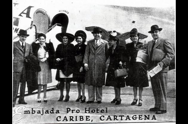 Entre los presentes, Vicente Martínez Martelo.