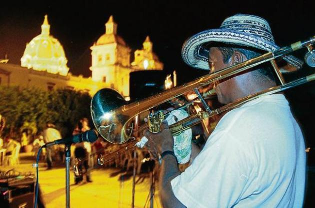 Concierto de porros en Cartagena.