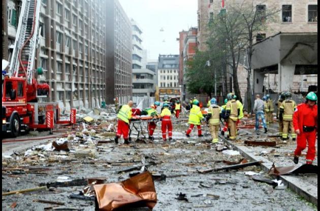 Atentado terrorista en Oslo, Noruega