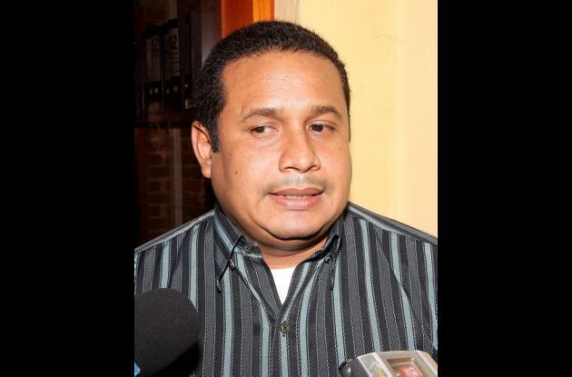 Heyder Florez Julio, alcalde de Turbana.