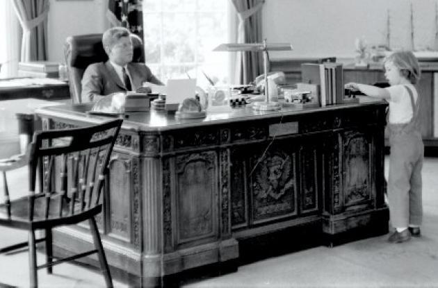 escritorio virtual de John F. Kennedy
