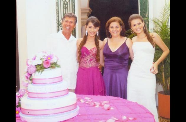 Quince años de Laura Arias