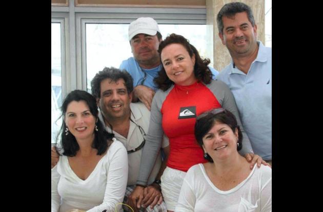 Sandra Borda, Rodolfo Porto, Augusto Vidales, Yoly Glause, Rafael Del Castillo y