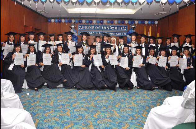 Grados del Colegio La Anunciación