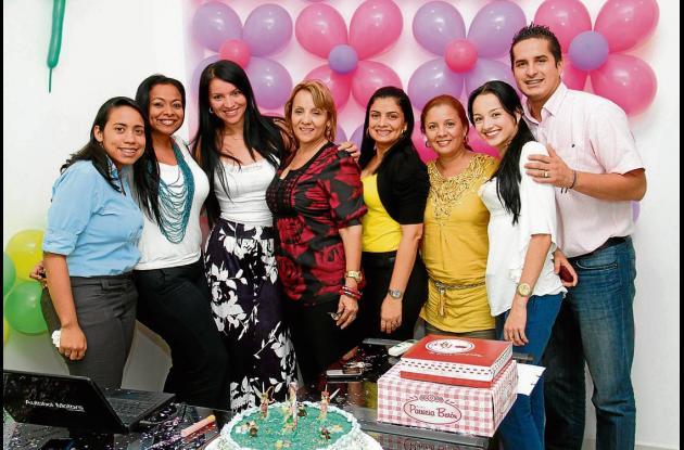 Cumpleaños de Silvia González Gaviria.