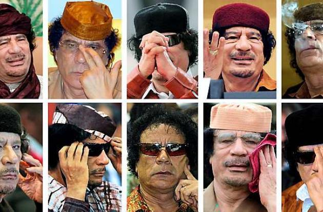 Imágenes de Muamar Gadafi