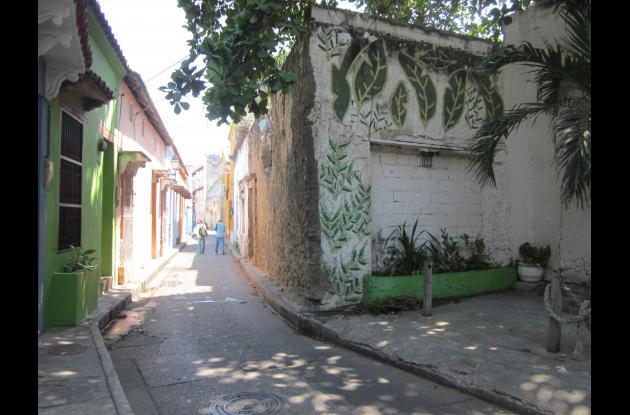 Calle San Juan en Getsemaní