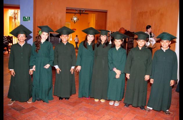 Grados en la Fundación Colegio Cristiano de Cartagena