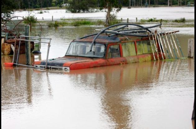 Inundaciones en Colombia por el invierno