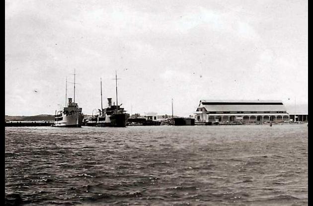 1936: Base Naval A.R.C. Bolívar.