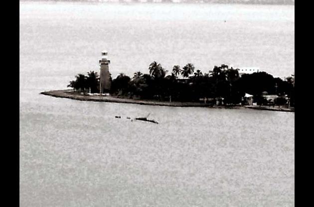 2001: Restos de la nave.