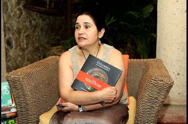 La  editora y gestora cultural Luz Eugenia Sierra.