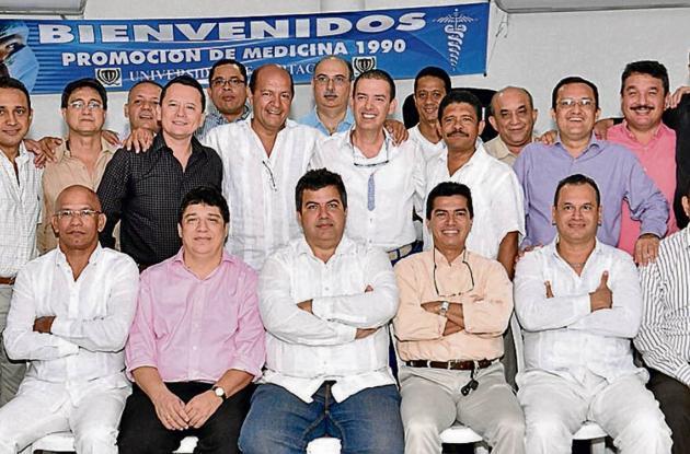 Aniversario de la promoción 1990 de la UDC