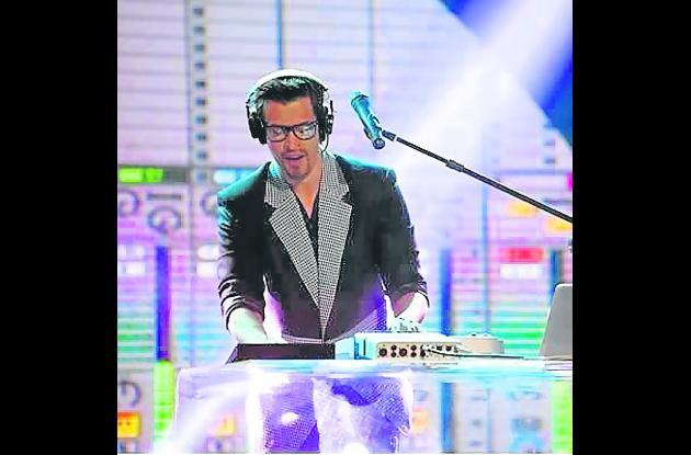 Daniel Riaño, cantante.