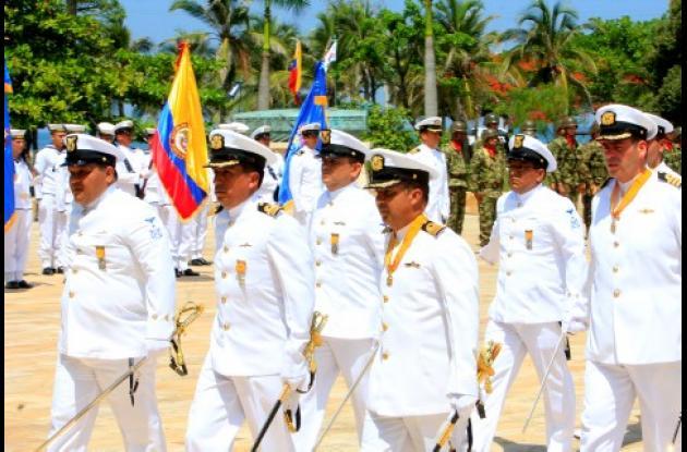 Con una ceremonia militar, la Armada Nacional celebró ayer 186 años ejerciendo soberanía y brindando protección a los colombianos. La ceremonia se realizó en el Parque de la Marina.