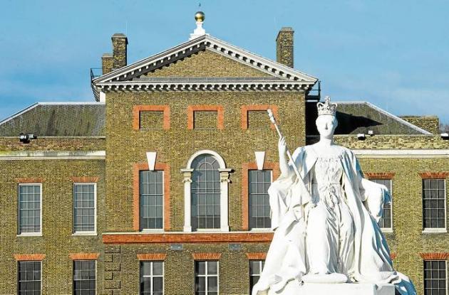 La estatua de la reina Victoria
