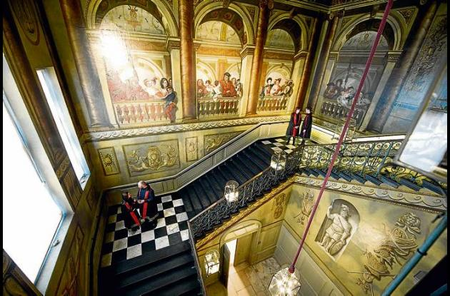 Una vista general del Palacio de Kensington.