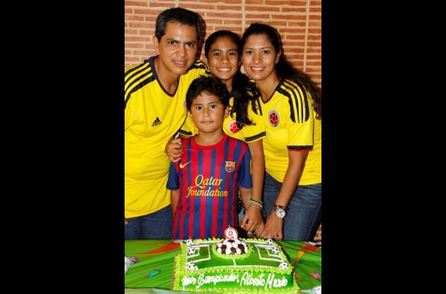 Cumpleaños de Alberto Mario Triana